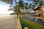 Akuvara- luxury contemporary beach house for holiday rental on Koh Samui, Thailand.