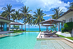 Baan Asan- luxury private beach villa rental on Koh Samui, Thailand.