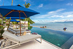Baan Capo- private luxury beach front house for holiday rental on Koh Samui.