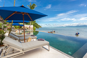 Samui Holiday Homes presents private beach house rental at Baan Capo, Koh Samui, Thailand