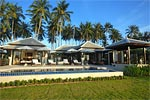 Villa Champagne- Koh Samui luxury beach house for holiday rental.