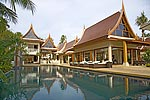 Dhevatara Cove- luxury beach house holiday rental on Koh Samui, Thailand.