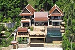 Golden Palm Villa- luxury Koh Samui house for holiday rental.