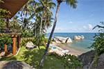 Baan HinYai- private Lamai beach villa rental on Koh Samui, Thailand.