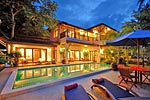 Baan Jasmine- Koh Samui luxury beachside villa for holiday rental- Thailand island holiday.