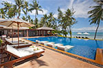 Baan Kilee- luxury beach villa rental on Koh Samui, Thailand.