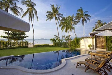 Samui Holiday Homes presents private beach house for rent at Villa Kisiti, Koh Samui, Thailand