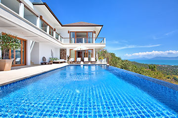 Samui Holiday Homes presents private luxury villa rental at Ban Lealay, Koh Samui, Thailand