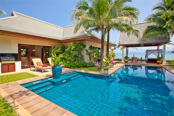 Samui Holiday Homes presents private beach house rental at Miskawaan Villa Hibiscus, Koh Samui, Thailand