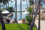 Baan Ora Chon- luxury beachfront villa for rent on Koh Samui, Thailand.