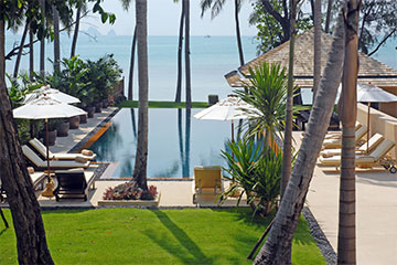 Samui Holiday Homes presents private luxury beach house at Baan Ora Chon, Koh Samui, Thailand