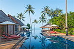 Baan Puri- luxurious private beach house for rent on Koh Samui, Thailand.