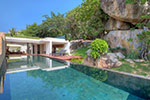 Samujana Villa 11- luxury private sea view house for rent on Koh Samui, Thailand.