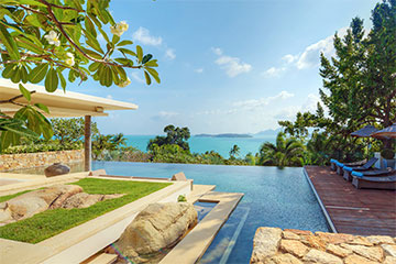 Samui Holiday Homes presents private villa rental at Baan Samujana, Koh Samui, Thailand