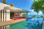 Samujana Villa 18- stylish rental house with pool and spectacular views, Koh Samui, Thailand.