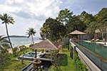 Sangsuri Villa 3- spectacular Chaweng beach house for rent on Koh Samui, Thailand.