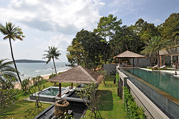 Samui Holiday Homes presents private beach house rental at Sangsuri Villa 3, Koh Samui, Thailand