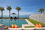 Villa Sila- luxurious and elegant beach house for rent on Koh Samui, Thailand.
