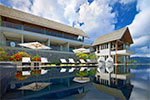 Suralai- luxury private villa with pool and gym for rent on Koh Samui.