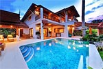 Baan Tawan- Koh Samui luxury beachside villa for holiday rental- Thailand island holiday.