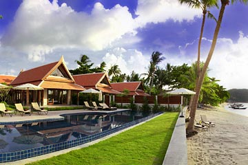 Samui Holiday Homes presents private luxury beach house at Baan Tawantok, Koh Samui, Thailand