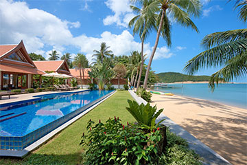 Samui Holiday Homes presents private luxury beach house at Baan Tawantok 1, Koh Samui, Thailand