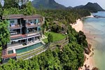 The View- luxury private beach house for holiday rental on Koh Samui, Thailand.