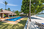 Waimarie- luxury beach house holiday rental on Koh Samui, Thailand.