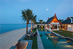 Villa Wayu- luxury family-friendly beach house for rent on Koh Samui, Thailand.